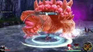 Ys8 -Lacrimosa of DANA- (PS4) 体験版 セルペンタス戦(インフェルノ)