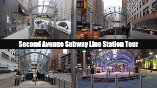 MTA New York City Subway: Second Avenue Subway Line Station Tour