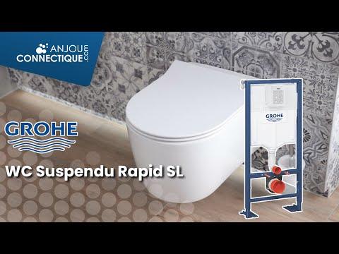 Installation Du Wc Supendu Rapid Sl De Grohe Youtube