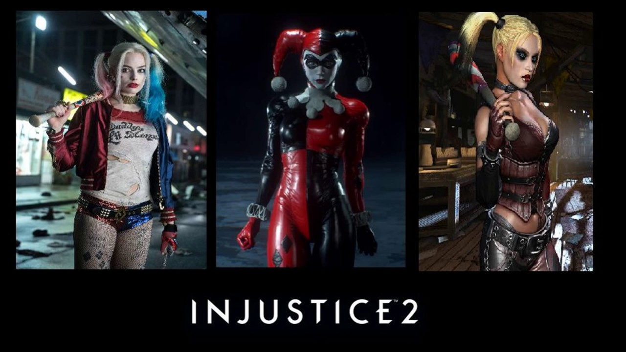 Injustice 2 Skins: Harley Quinn - YouTube