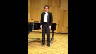 Brandon Keith Biggs CSUEB Junior Recital part 1