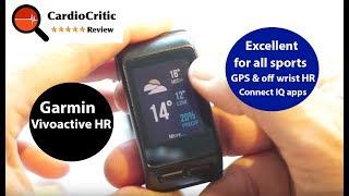 Garmin Vivoactive HR Review by Tristan Haskins - HeartRateMonitor.co.uk