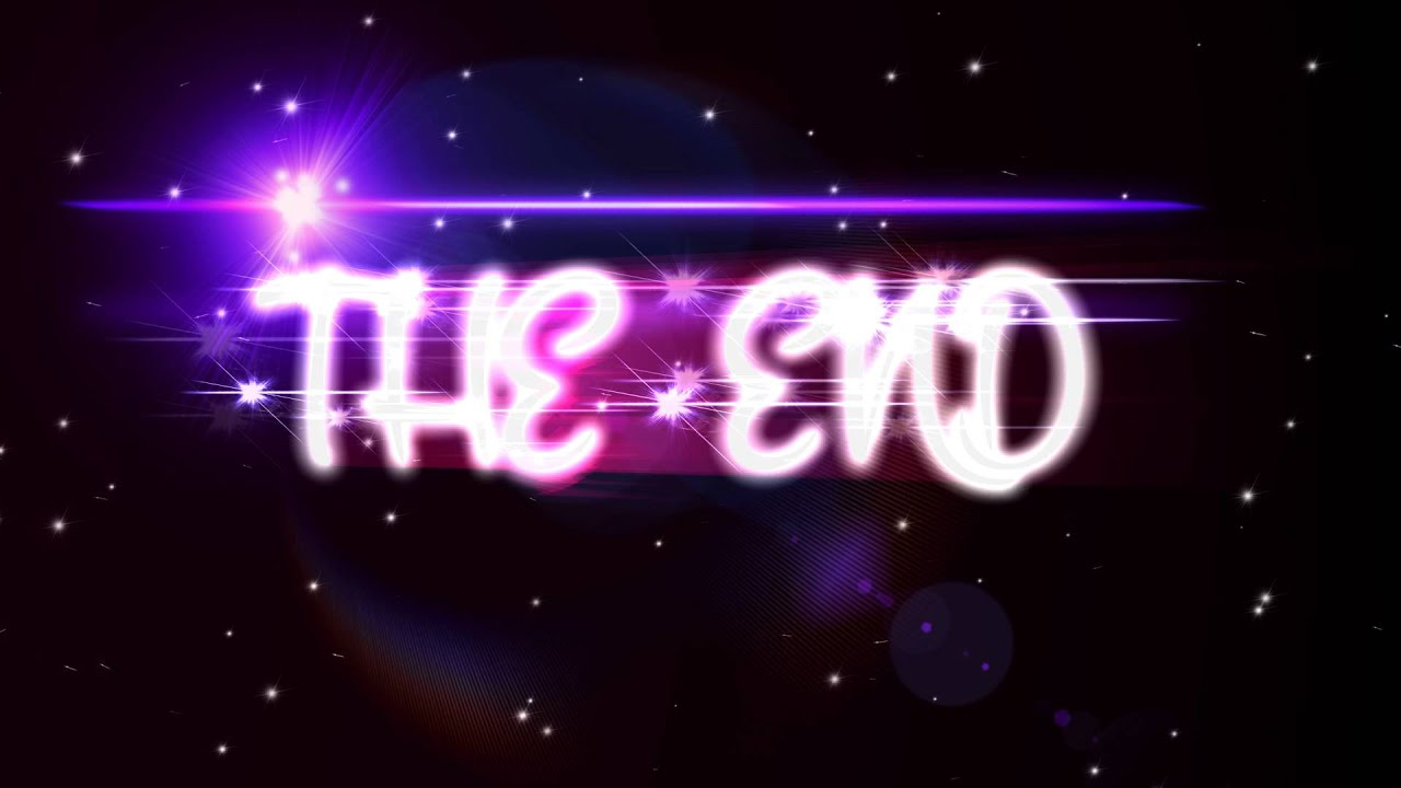 4k uhd stary the end title animation youtube