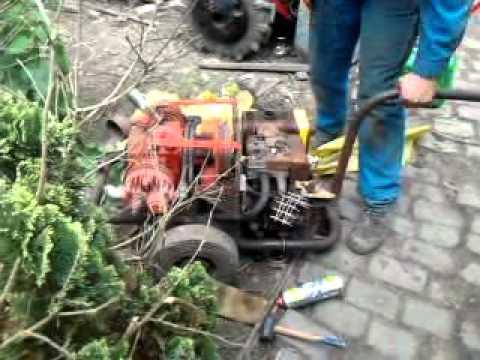 Mobile Air Compressor >> first start compressor spit 600 (motor rebuilded) - YouTube
