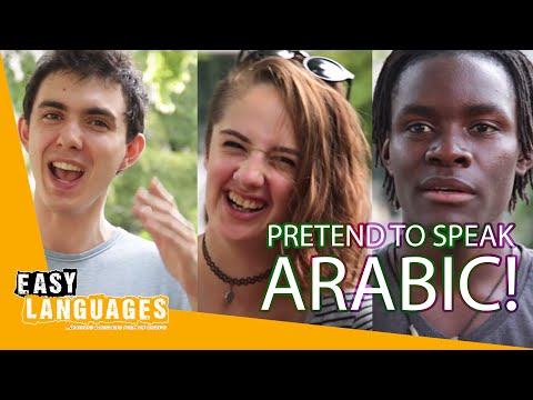 How does Arabic sound to non-Arabic speakers?
