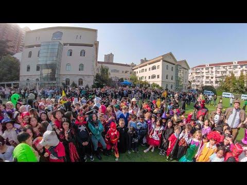 2019 Halloween Flash Mob - Cha Cha Slide | SCIS Hongqiao