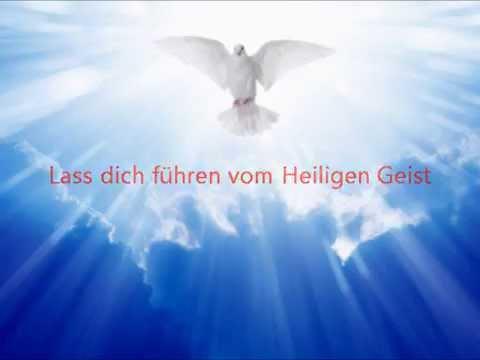Lass dich führen vom Heiligen Geist