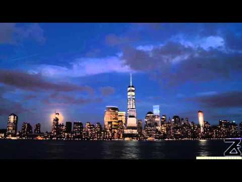 Changes of Day and Night in New York City Time Lapse and Hyperlapse Video of Manhattan
