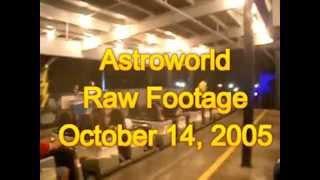 Astroworld Rare Raw Footage October 14, 2005