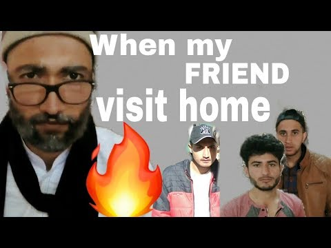 Types of friends funny | When friend come to your home | Raja Bhai | himachali funny video 2018