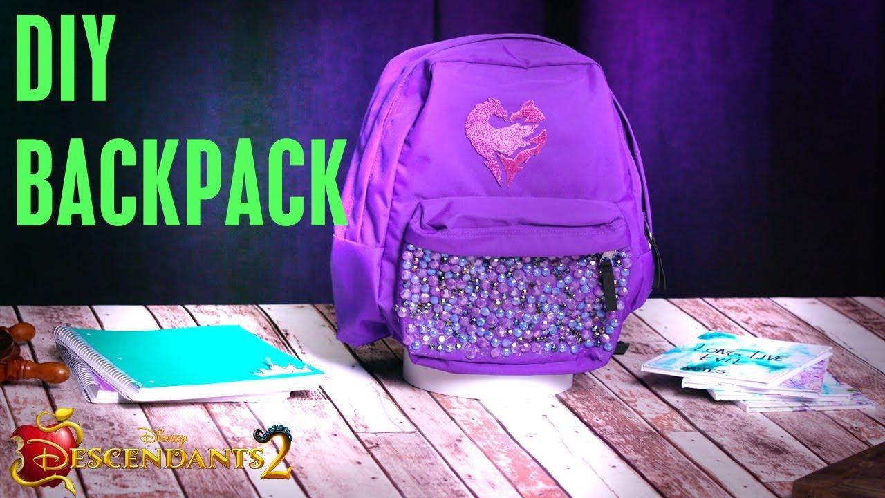 Backpack Tutorial 🎒 Diy Descendants 2 Youtube