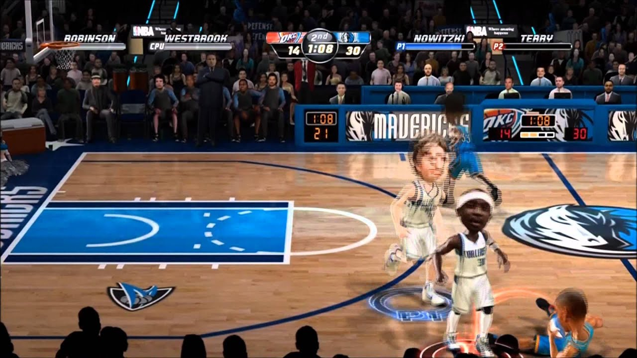 NBA Jam: On Fire Edition (XBLA)- Local Match 1 - YouTube