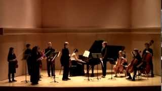 Bach Brandenburg Concerto no. 5: Daphne Honma- piano, Kayla Burggraf- flute, Phillip Martin- violin