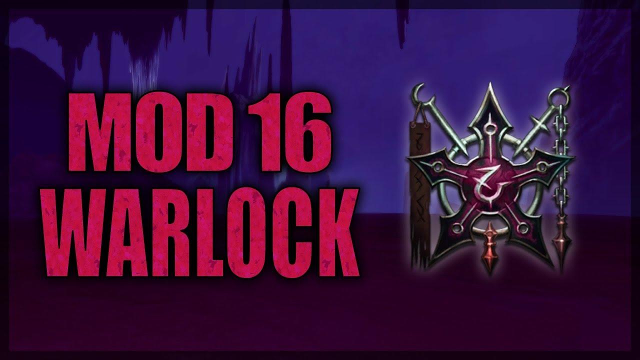 Neverwinter Mod 16 Warlock Class Overview (partially