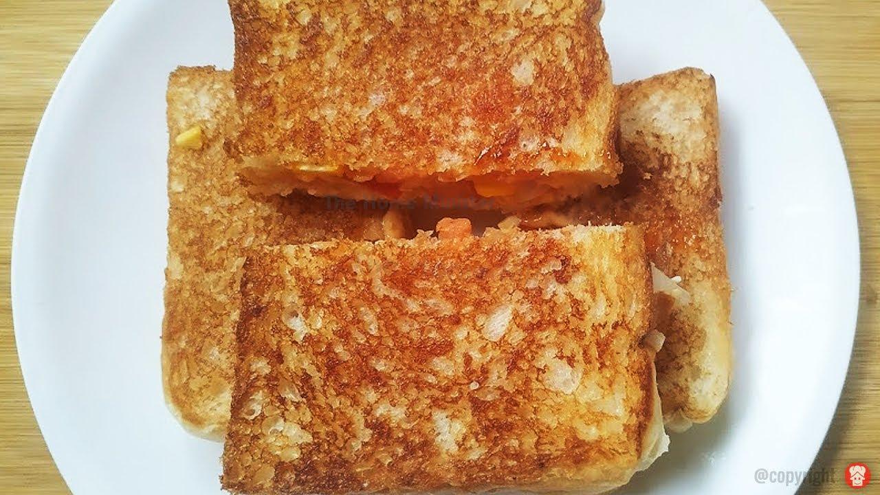 सुबह के नाश्ते में बनाये या शाम की चाय के साथ खाए ये टेस्टी सैंडविच Quick & Tasty Breakfast Sandwich