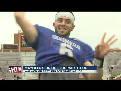 Baker Mayfield's unique journey to OU QB