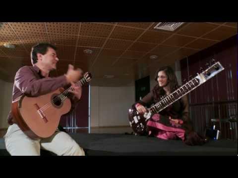 Craig Ogden (guitar) in conversation with Roopa Panesar (sitar)