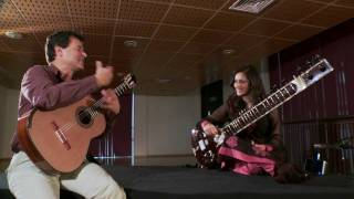 Craig Ogden (guitar) in conversation with Roopa Panesar (sitar)