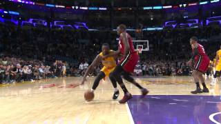 Julius randle puts the moves on luol deng and floats home a left-handed game winner!about nba: nba is premier professional basketball league in t...