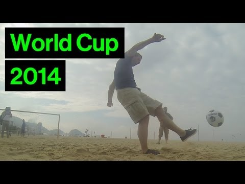 England Hero In Copacabana Shoot-out Fail! | World Cup Behind the Scenes