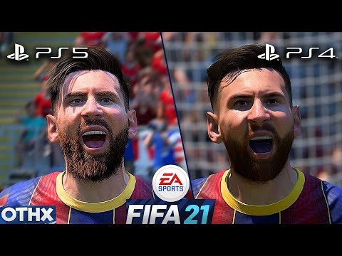 FIFA 21 | PS5 vs PS4 | Amazing NEW Gameplay and Graphics ...