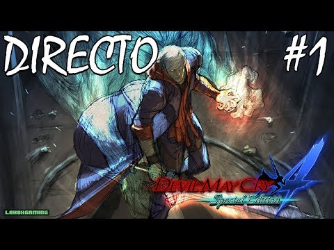 Devil May Cry 4 SE - Directo #1 Español - Cazademonios - Nero en Acción - ¡Let's Rock! - Xbox One X thumbnail