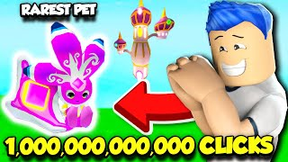 THIS NEW SIMULATOR IS LIKE POKEMON MIXED WITH TAPPING SIMULATOR... (Roblox)