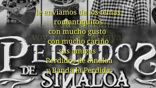 (ESTRENO)Perdidos de Sinaloa-Voy a pintar mi raya EN VIVO( lyrics) Resimi