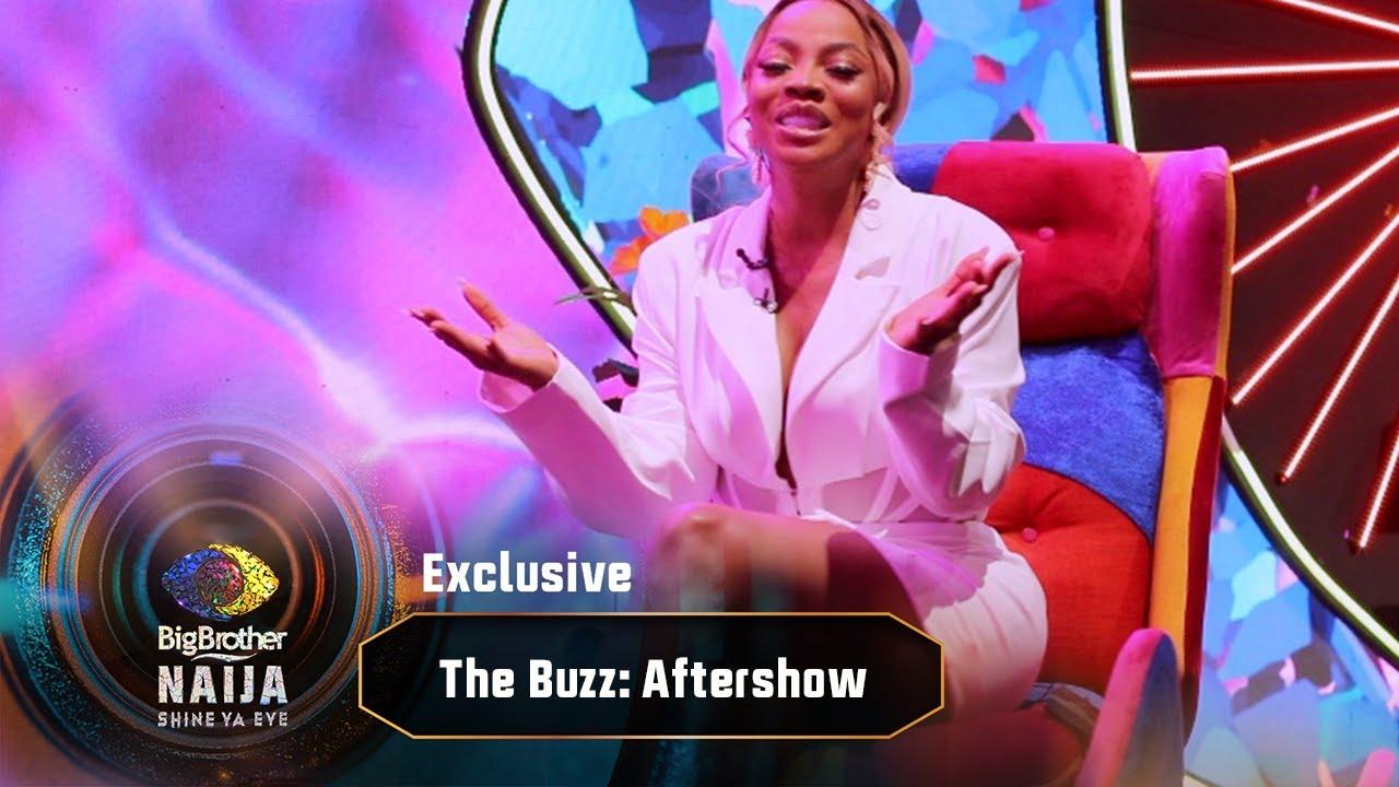 Download The Buzz Aftershow: Toke Makinwa reviews week ten   Big Brother: Shine Ya Eye   Africa Magic