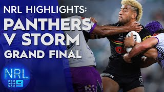 NRL Highlights: Panthers v Storm - Grand Final | NRL on Nine