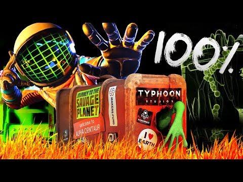 ПЛАНЕТА ЗАКОНЧИЛАСЬ. 100% ПРОХОЖДЕНИЕ ► Journey To The Savage Planet #8 Прохождение