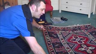 How to vacuum your fine rug