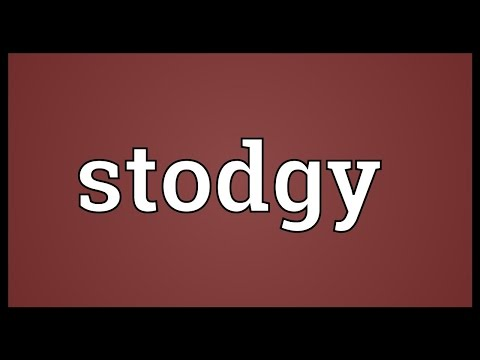 Header of stodgy