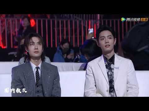 "[Focus] Xiao Zhan & Wang YiBo "" Tencent Video All Star Award 2019"""