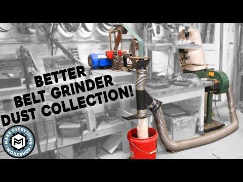 Better Belt Grinder Dust Collection (Water & Vacuum)