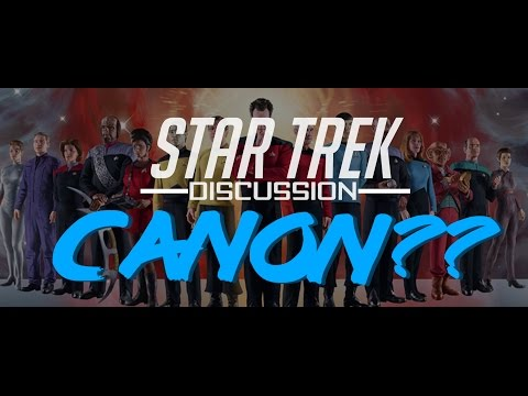 Star Trek - What is Canon? (Data don't hurt me, don't hurt me, no Lore...)