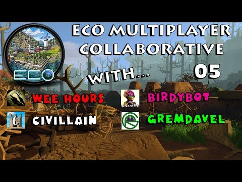 Eco Multiplayer: With Civillain, Gremdavel, and BirdyBot 05