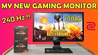 Best 1080p 240Hz Gaming Monitor Ever !! Benq Zowie XL2546 Review [HINDI]