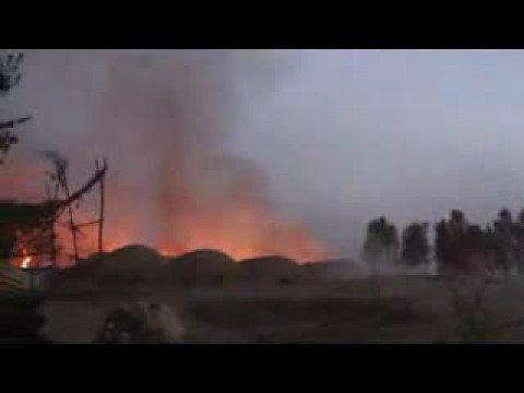 Canadian forces - Dawn raid on Taliban