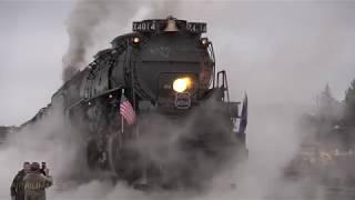 Big Boy 4014 and 844 Doubleheader Steam Locomotives to Ogden