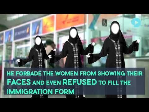 3 Kuwait Women Deported For Refusing To Lift Veil At Delhi Airport