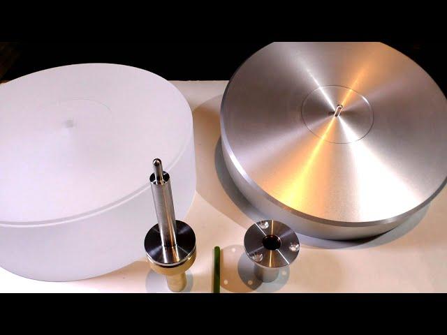 Влияние материала опорного диска винилового проигрывателя на звук.