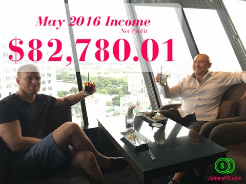 May 2016 Passive Income Report: My Biggest Profit Month EVER!