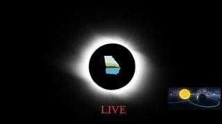 SOLAR ECLIPSE LIVE ATLANTA GA ! #solareclipse2017 live! ATLANTA GEORGIA!!!!!!!