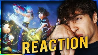 PIANGERE IN LIVE - REACTION TRAILER KINGDOM HEARTS 3!
