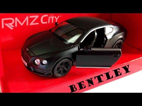 BENTLEY CONTINENTAL | 1:38 Diecast Model Car |UNBOXING |REVIEW |Bentley Continental GT V8 [2018]
