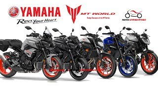 All New Yamaha MT Series Model 2019 | New Yamaha Hyper Naked Motorcycles 2019
