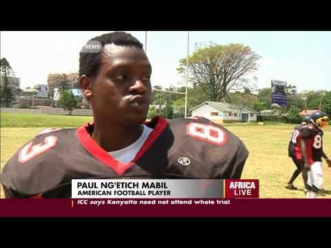 American Football Is Slowly Gaining Popularity In Kenyan Universities