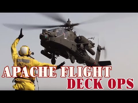 AH 64 Apache Flight Deck Operations
