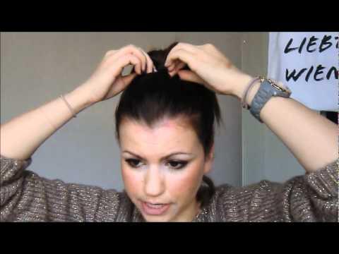 Der Dutt Für Kurzes Haar Tutorial Youtube